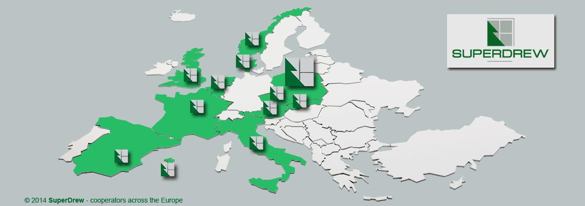 SuperDrew w Europie