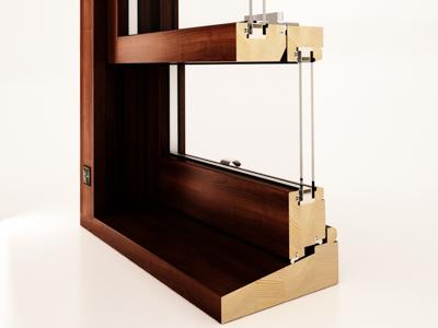 Okna drewniane angielskie i skandynawskie