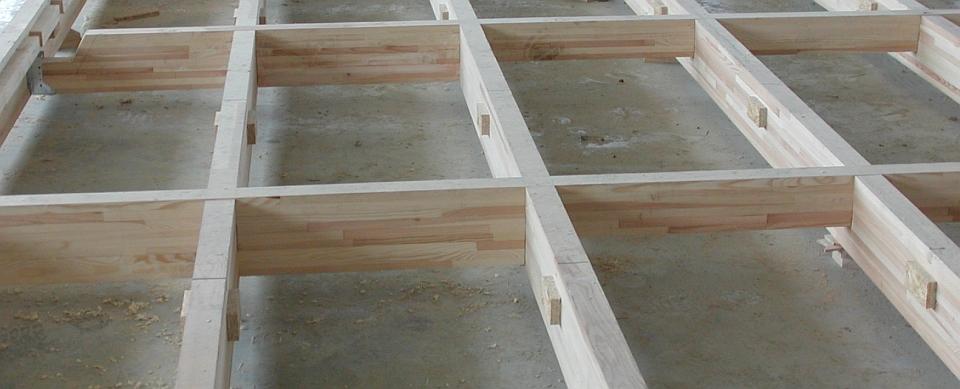kratownice z drewna klejonego