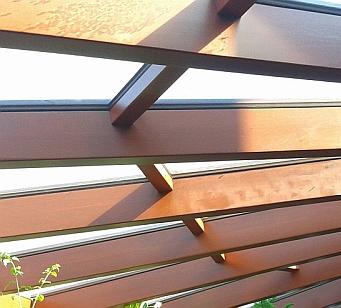 Wooden beams / crossbeams