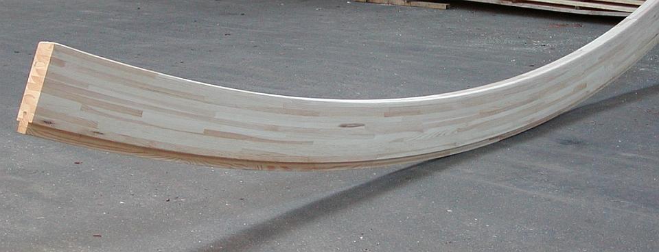 Drewno klejone warstwowo - elementy